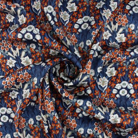 Liberty silk satin fabric - Emma Louise A x 10cm