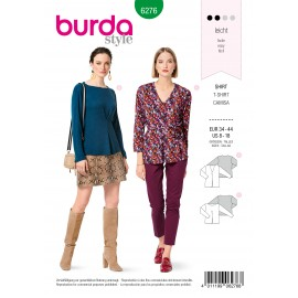 Shirt Sewing Pattern - Burda Style n°6276