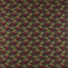 Tissu Popeline Liberty - Plume Poppy B x 10cm