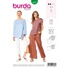 Blouse Sewing Pattern - Burda Style n°6270