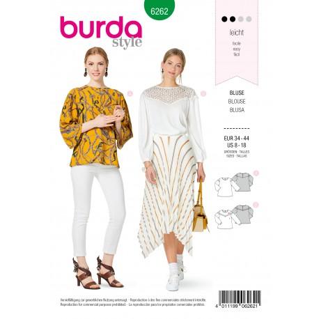 Blouse Sewing Pattern - Burda Style n°6262