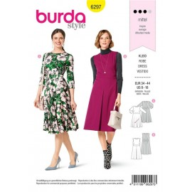 Dress Sewing Pattern - Burda Style n°6297