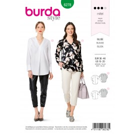 Blouse Sewing Pattern - Burda Style n°6278