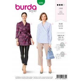 Blouse Sewing Pattern - Burda Style n°6285