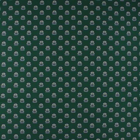 Tissu Popeline Liberty - Plume Poppy A x 10cm