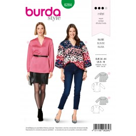 Blouse Sewing Pattern - Burda Style n°6284