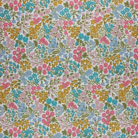 Liberty cotton fabric - Sweet May B x 10cm