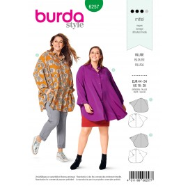 Blouse Sewing Pattern - Burda Style n°6257