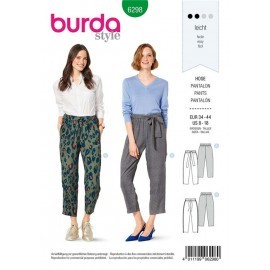 Pants Sewing Pattern - Burda n°6268