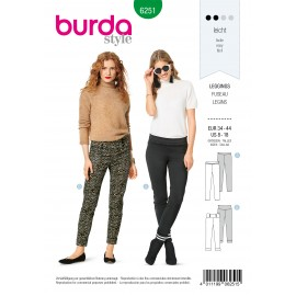 Patron Leggings Burda n°6251
