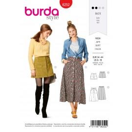 Patron Jupe Evasée Burda n°6252