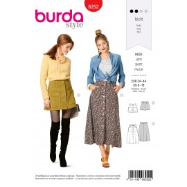Skirt Sewing Pattern - Burda n°6252