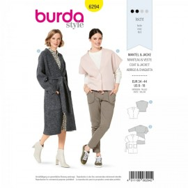 Jacket Sewing Pattern - Burda n°6294