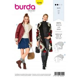 Jacket Sewing Pattern - Burda n°6249
