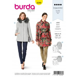 Jacket Sewing Pattern - Burda n°6289