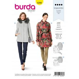 Jacket Sewing Pattern - Burda n°6289