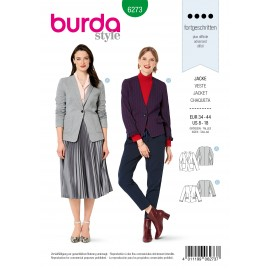 Blazer Sewing Pattern - Burda n°6273