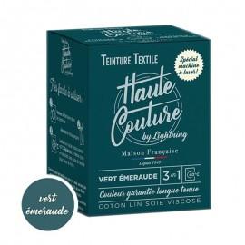 Teinture Textile Haute Couture - Vert émeraude