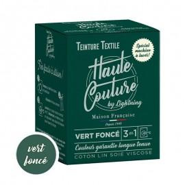 Teinture Textile Haute Couture - Vert foncé