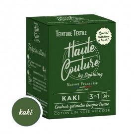 Teinture Textile Haute Couture - Vert kaki