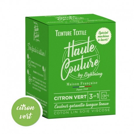 Haute Couture Textile Dye - Lime Green
