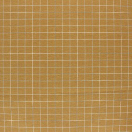 Checked Flannel Fabric - Sauge green x 10cm