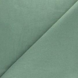 Tissu Flanelle uni - vert sauge x 10cm