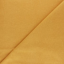 Plain Flannel Fabric - mustard yellow x 10cm