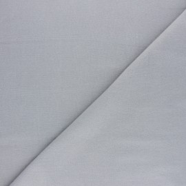 Tissu Flanelle uni - gris x 10cm