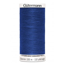 Bobine de Fil Jeans Gutermann 100 m - N°6756