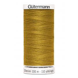 Bobine de Fil Jeans Gutermann 100 m - N°1970