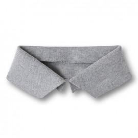 Organic Polo Collar - Grey