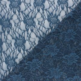 Tissu Dentelle Méria - taupe x 10cm