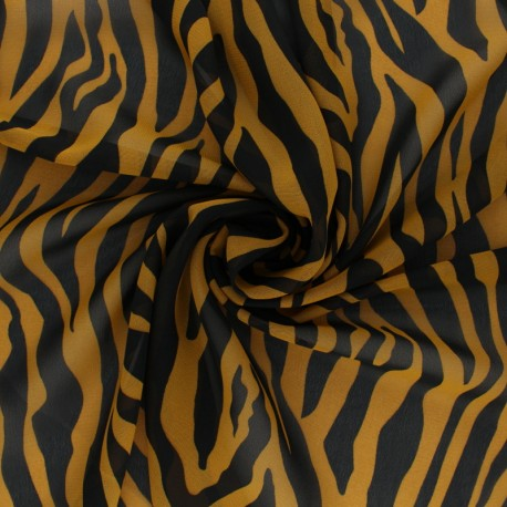 Crepe fabric Bellinda - blue x 10cm