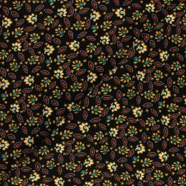 Tissu Viscose Alda - noir x 10cm