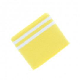 Organic Striped Edging Fabric (140x7cm) - Yellow