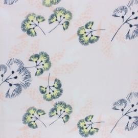 ♥ Coupon 40 cm X 140 cm ♥  Rico Design double Gauze cotton fabric - pink Japan blossom