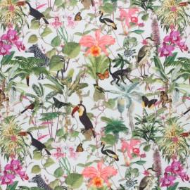 Cotton fabric - Raw Palmito x 10cm