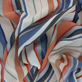Tissu Viscose aspect lin Ludivine - écru x 10cm