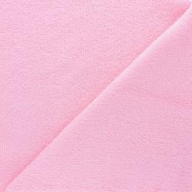 Tissu éponge bébé bambou - Rose x10cm