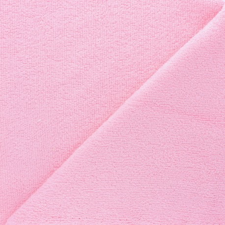 Sponge Zorb fabric - light pink Baby bamboo x10cm