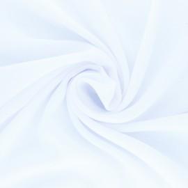 Muslin Fabric - white Clarisse x 50cm