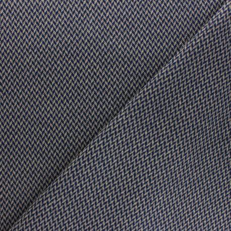 Striped Lurex viscose knitted Fabric - pink Tabatha x 10cm