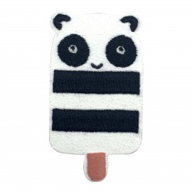 Panda iron-on patch - Esquimanimau