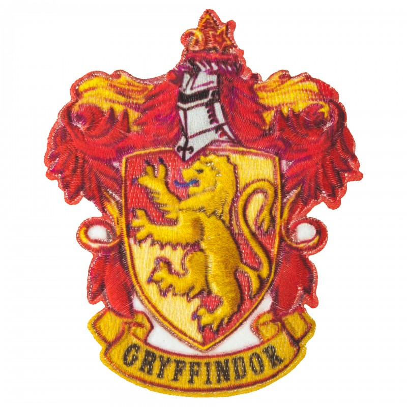 Potter Gryffondor Gryffindor Patch Embroidered Écusson Thermocollant NEUF A