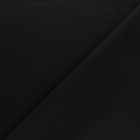 Elastane Twill Tailor fabric - black Cassandra x 10cm