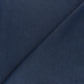 Denim Aspect Tencel fabric - dark blue  x 10cm