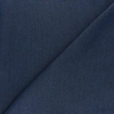 Denim Aspect Tencel fabric - medium blue  x 10cm