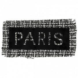 Écusson à Coudre Paris  XL - Noir