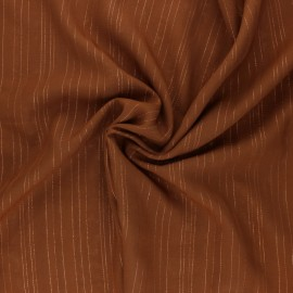 Lurex Viscose voile fabric - black Folie's x 10cm